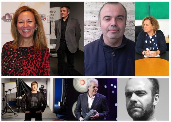 María José Gómez García de Soria, Benito Herrera, Xurxo Chirro, Aurora Moreno Santana, Ana Sánchez-Gijón, Andrés Santana y Victor Moreno (1)